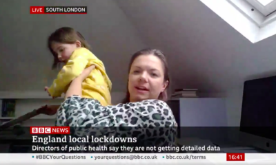 Daughter of Health Policy Expert Crashes During BBC News Interview [And the Internet is Loving It]