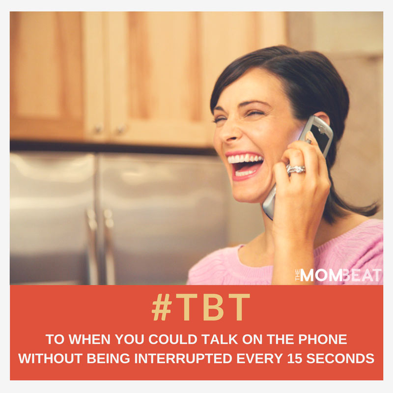 9 Throwback Thursday Moments to Which Moms Can Relate - The Mom Beat